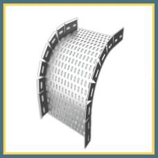 Гибкий наружный поворотный соединитель 100x70x1,2 мм DB