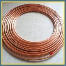Труба медная для кондиционеров 15,88х0,89 мм М1 ГОСТ 617-2006