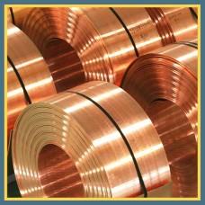 Лента бронзовая 0.02 мм БрБ2 ГОСТ 1789-70, ГОСТ 467-77