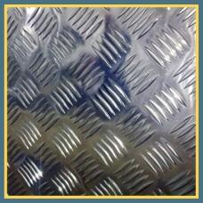 Лист нержавеющий рифленый х/к 3х1250х2500 мм AISI 304