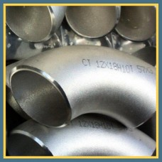 Отвод нержавеющий 45° 154х2 мм AISI 304