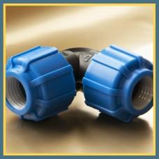 Отвод ПЭ сварной двухсегментный 15° 225 мм SDR13,6 ПЭ 100