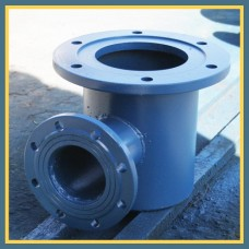Подставка фланцевая стальная под пожарный гидрант 100/100 мм ППТФ