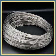 Проволока титановая сварочная ВТ1-0 1 мм ГОСТ 27265-87
