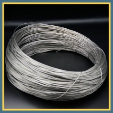 Проволока титановая сварочная ВТ1-0 2 мм ГОСТ 27265-87
