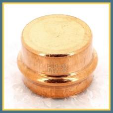 Заглушка пресс латунная CAP 16 (225) Hydrosta