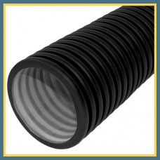 Труба гофрированная DN/OD 400/350 SN 8 PР-В (6 м с раструбом) OPTIMA